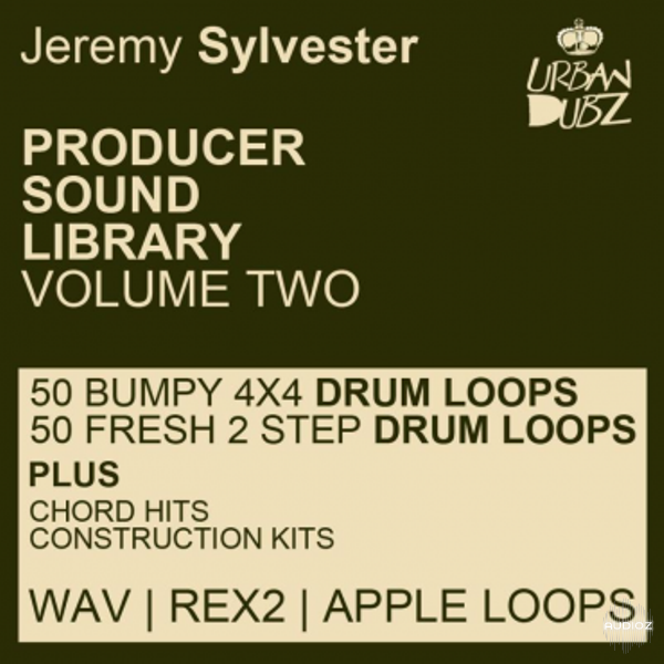 Jeremy Sylvester Producer Sound Library Volume 2 WAV REX Apple Loops-KRock